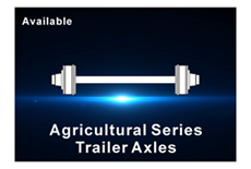 Agricultural axle
